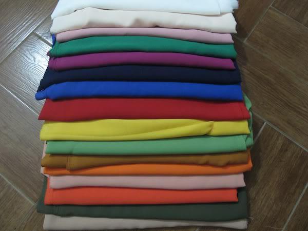 Chọn vải may áo thun